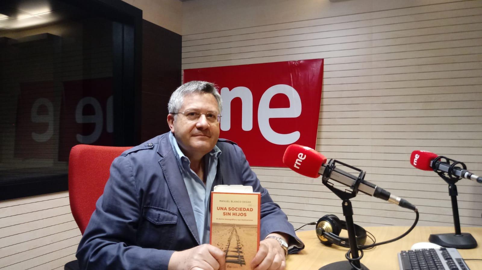 Blanco Desar, autor de 'Sociedad sin hijos'