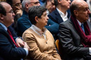 Montilla y Roca en la presentación del libro de catalanismo