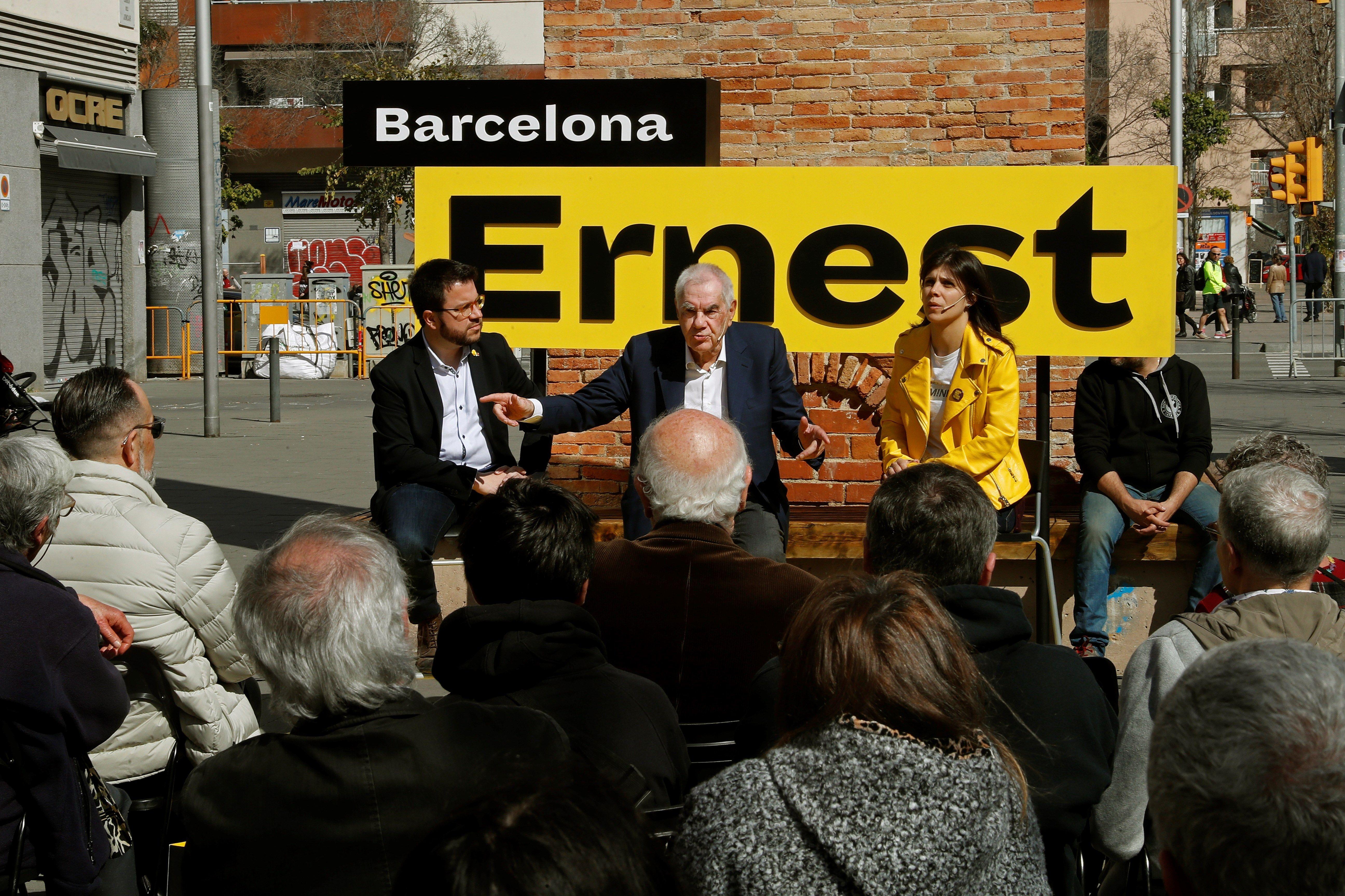 """Maragall (ERC) promete hacer de Barcelona la """"punta de lanza"""" independentista"""